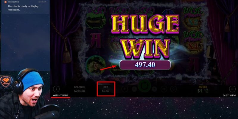 Huge Win - Witchy Wins Slot