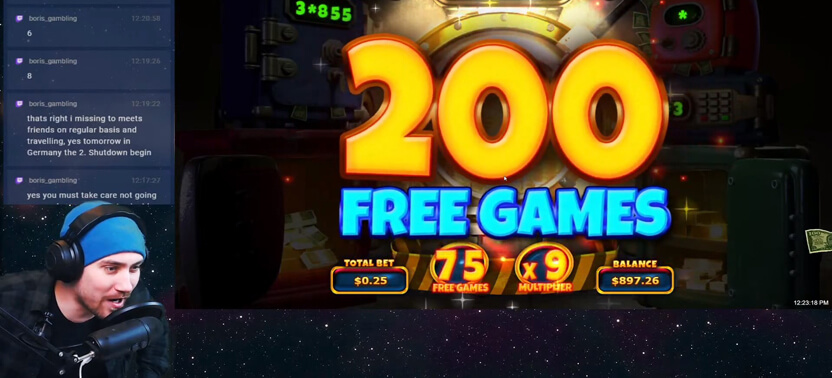 Cash Bandits 3 - 200 Free Spins Win