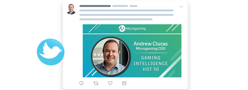 Andrew Clucas, Microgaming COO