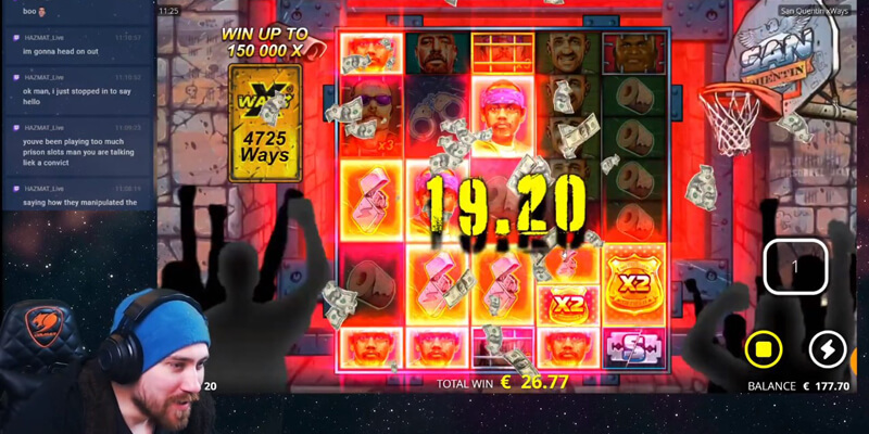 Enhancer Ceels Feature in San Quentin slot